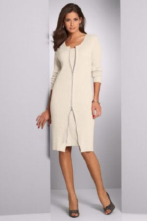Metrostyle Sweater Dress Set