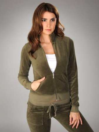 Juicy Couture, Velour Track Jacket, English Manor